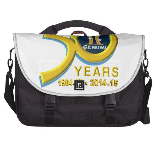 Gemini 50th Anniversary Logo Laptop Computer Bag