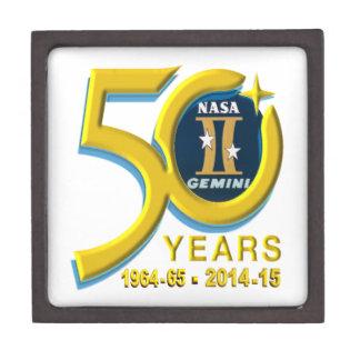 Gemini 50th Anniversary Logo Premium Trinket Box