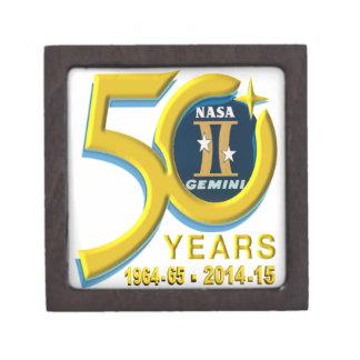 Gemini 50th Anniversary Logo Premium Trinket Boxes