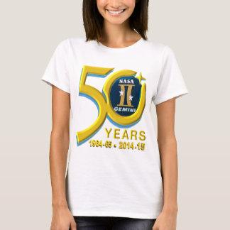 Gemini 50th Anniversary Logo T-Shirt
