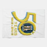 Gemini 50th Anniversary Logo Towels