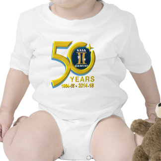 Gemini 50th Anniversary Logo T-shirts