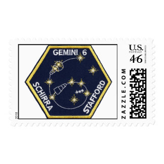 Gemini 6 Schirra and Stafford Postage Stamps
