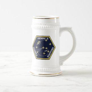 Gemini 6A (officially Gemini VI-A) Beer Stein