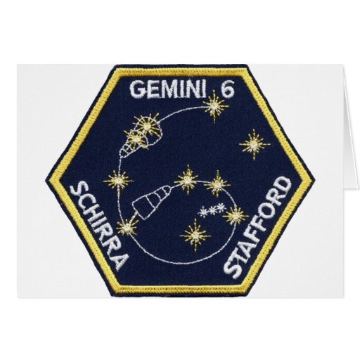 Gemini 6A (officially Gemini VI-A) Greeting Cards