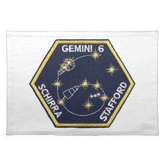 Gemini 6A (officially Gemini VI-A) Placemat