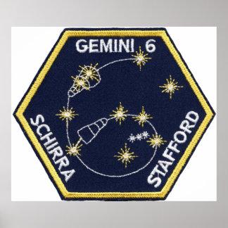 Gemini 6A (officially Gemini VI-A) Poster