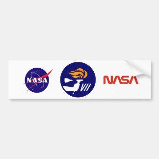 Gemini 7 car bumper sticker
