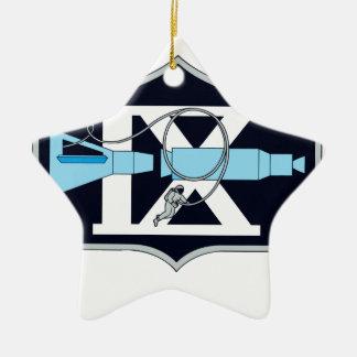 Gemini 9 Stafford and Cernan Ceramic Ornament