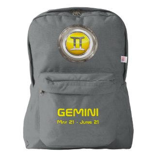 Gemini Astrological Symbol American Apparel™ Backpack
