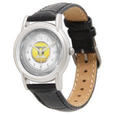 Gemini Astrological Symbol Wrist Watch