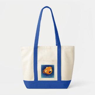 Gemini Astrological Zodiac Sign Tote Bag