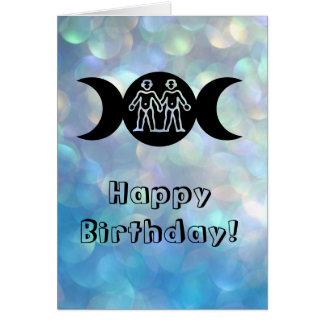 Gemini astrology sun sign zodiac birthday card