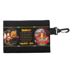Gemini Cancer zodiac cusp by Valxart Accessories Bag