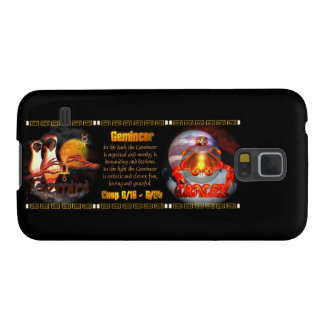 Gemini Cancer zodiac cusp by Valxart Case For Galaxy S5