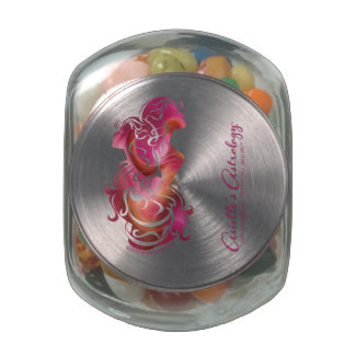 Gemini Candy Jar Glass Candy Jars