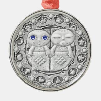 Gemini Coin premium ornament