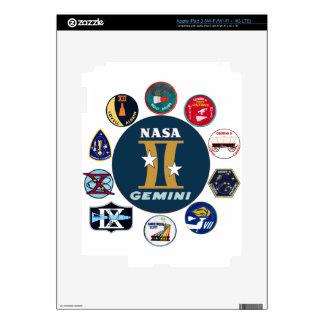 Gemini Commemorative Logo iPad 3 Skin