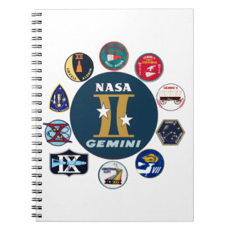 Gemini Commemorative Logo Notebook