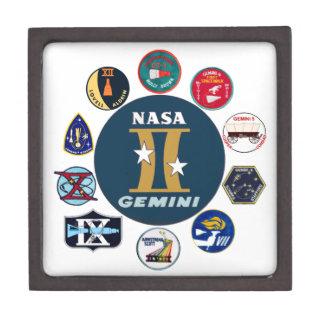 Gemini Commemorative Logo Premium Keepsake Boxes