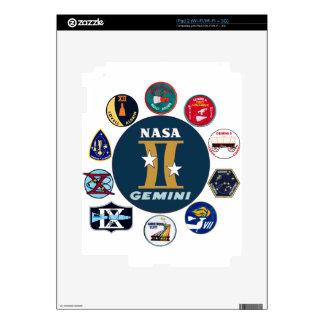 Gemini Commemorative Logo Decal For iPad 2