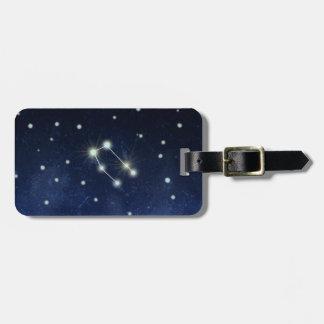 Gemini Constellation | Custom Name & Address Bag Tag