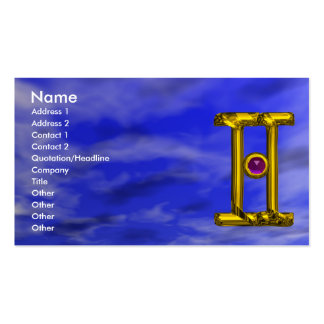 GEMINI Double-Sided STANDARD BUSINESS CARDS (Pack OF 100)