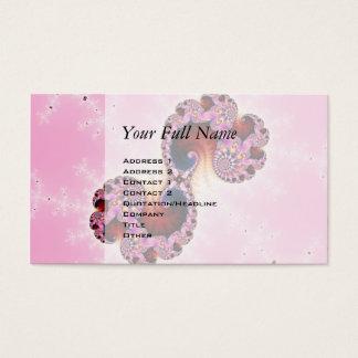 Gemini Fractal Art Business Card