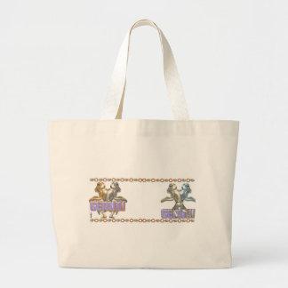 Gemini Gemini zodiac bag Jumbo Tote Bag