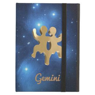Gemini golden sign iPad air cases