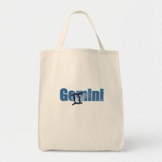 Gemini Grocery Tote Bag
