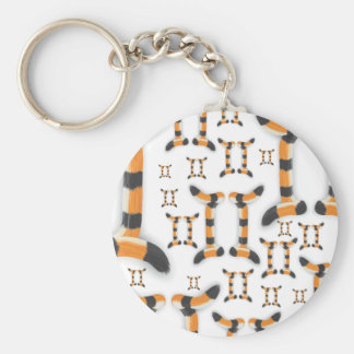 """""""Gemini in Tiger's Style"""". Keychain"""