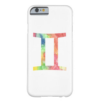 Gemini iPhone 6 Case, Watercolor Barely There iPhone 6 Case