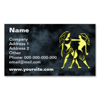 Gemini Magnetic Business Card