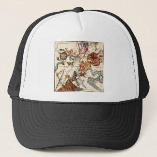 Gemini, Orion, Cancer, Taurus, Canis Major&Minor Trucker Hat