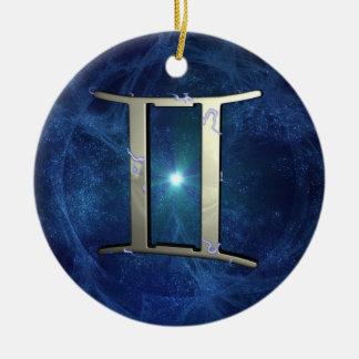 Gemini Christmas Tree Ornament