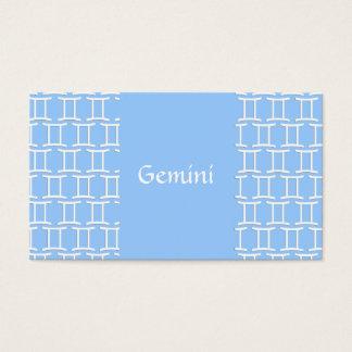Gemini Pattern Business Card
