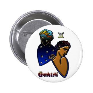 Gemini Pinback Button