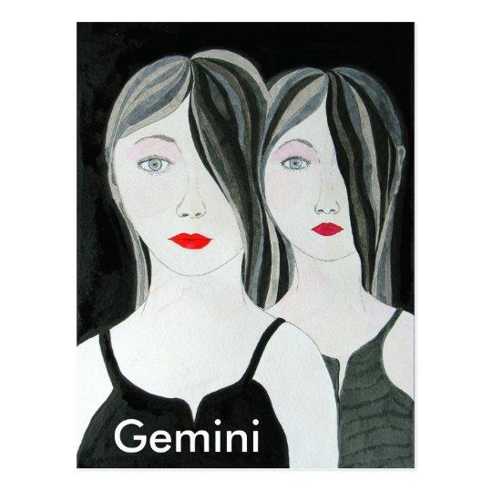 Gemini Postcard