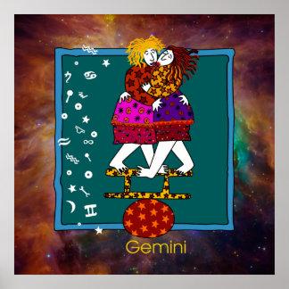 Gemini Poster Print