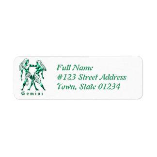 Gemini Return Address Label