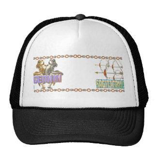 Gemini Sagittarius zodiac Trucker Hat