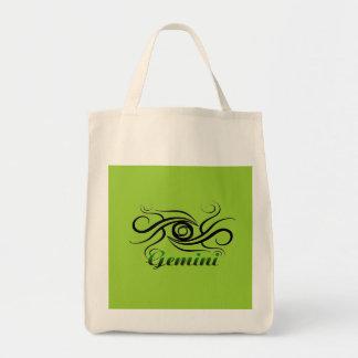 Gemini Series Tote Bags