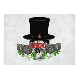 Gemini Skull Card