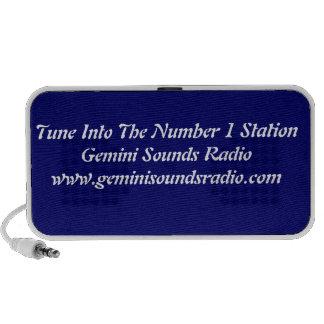 Gemini Sounds Radio Portable Speaker