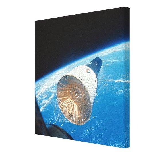 Gemini Space Capsule Canvas Print