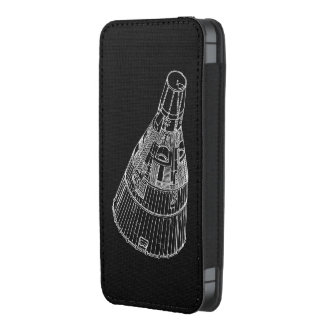 Gemini Space Capsule diagram smartphone cover iPhone 5 Pouch