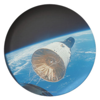 Gemini Space Capsule Dinner Plate