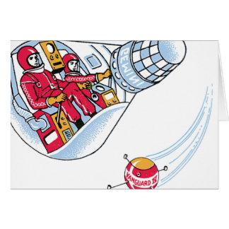 Gemini Space Capsule Greeting Card
