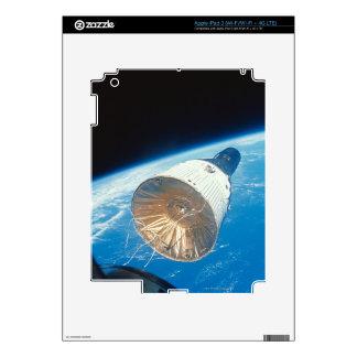Gemini Space Capsule iPad 3 Decals